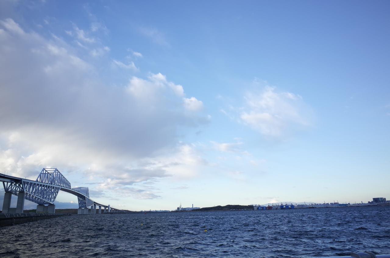 東京ゲートブリッジと初日の出12