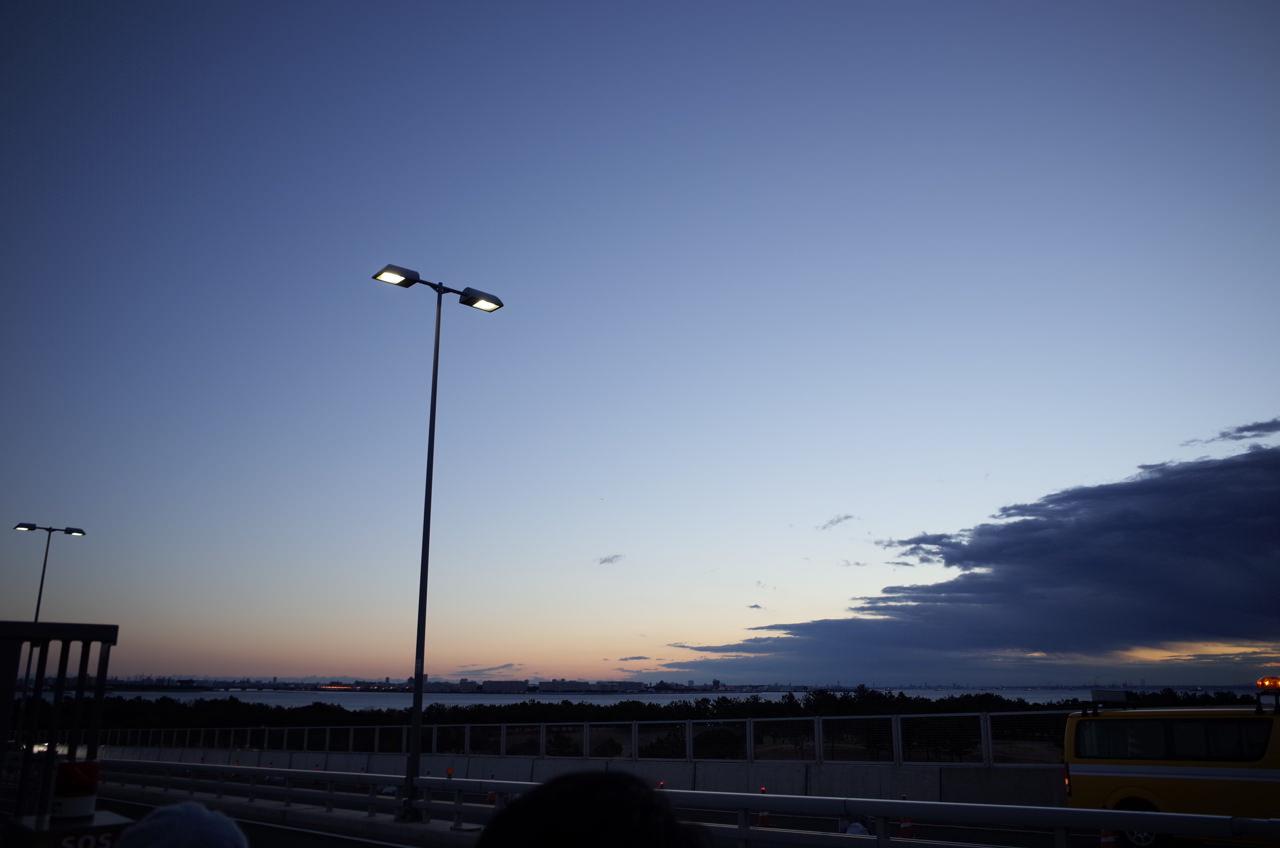 東京ゲートブリッジと初日の出6